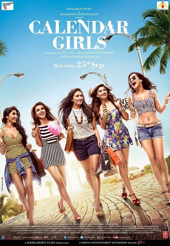 Ruhi Singh, Avani Modi, Akanksha Puri, Satarupa Pyne, and Kyra Dutt in Calendar Girls (2015)