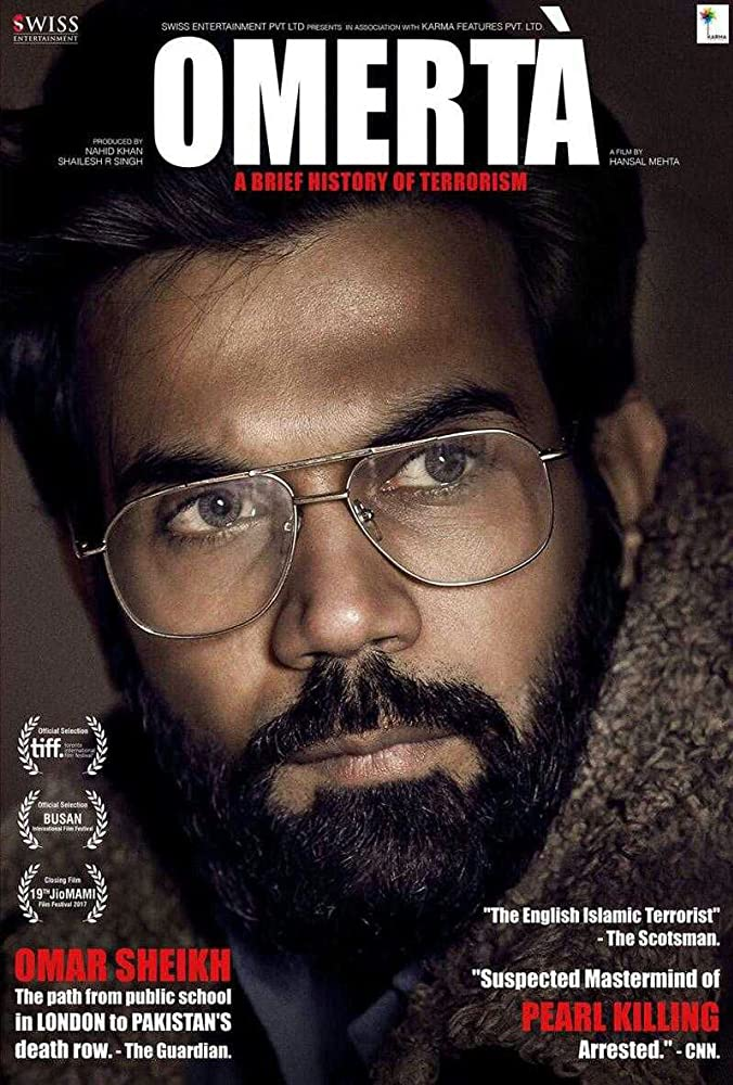 Omerta 2018 Hindi 500MB HDRip 720p HEVC x265 ESubs Download