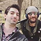 """On set of the film  """"Thicket"""" with sound designer Chis Bell"""