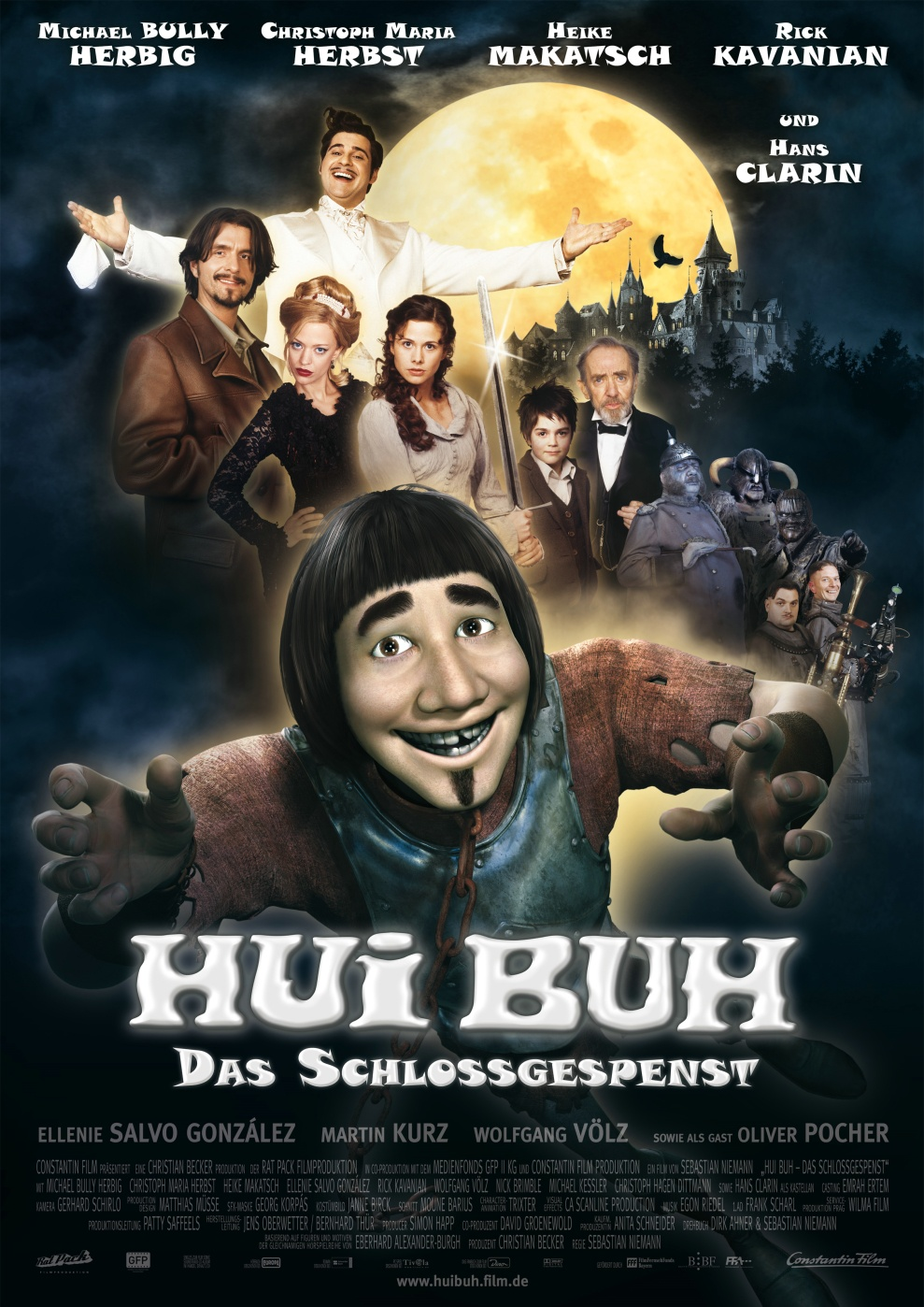 Hui Buh The Castle Ghost 2006 Hindi Dual Audio 400MB BluRay ESub