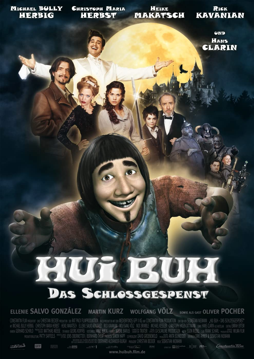 Hui Buh: The Castle Ghost (2006) Hindi Dubbed