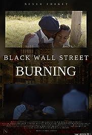 Black Wall Street Burning Poster
