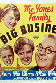 Spring Byington, June Carlson, Shirley Deane, George Ernest, Kenneth Howell, Billy Mahan, Jed Prouty, and Florence Roberts in Big Business (1937)