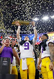 2020 College Football Championship: Clemson vs. LSU Poster
