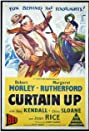 Curtain Up (1952) Poster