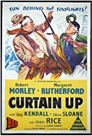 Curtain Up Poster