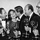 Mary Tyler Moore, Dick Van Dyke, Carl Reiner, Richard Deacon, and Jerry Paris in The Dick Van Dyke Show (1961)