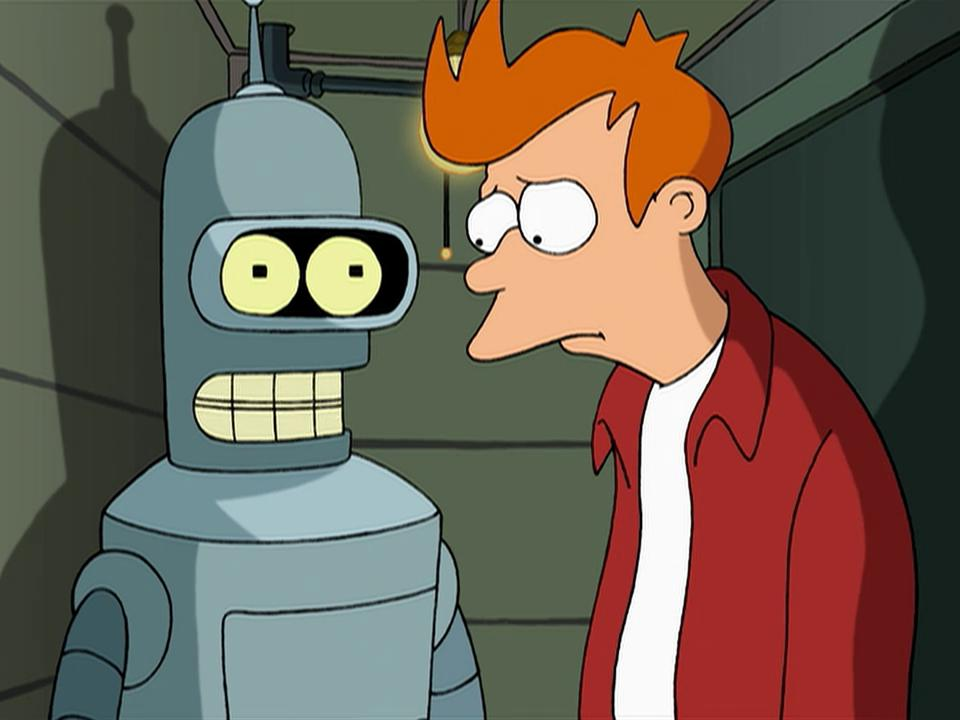 John DiMaggio and Billy West in Futurama (1999)