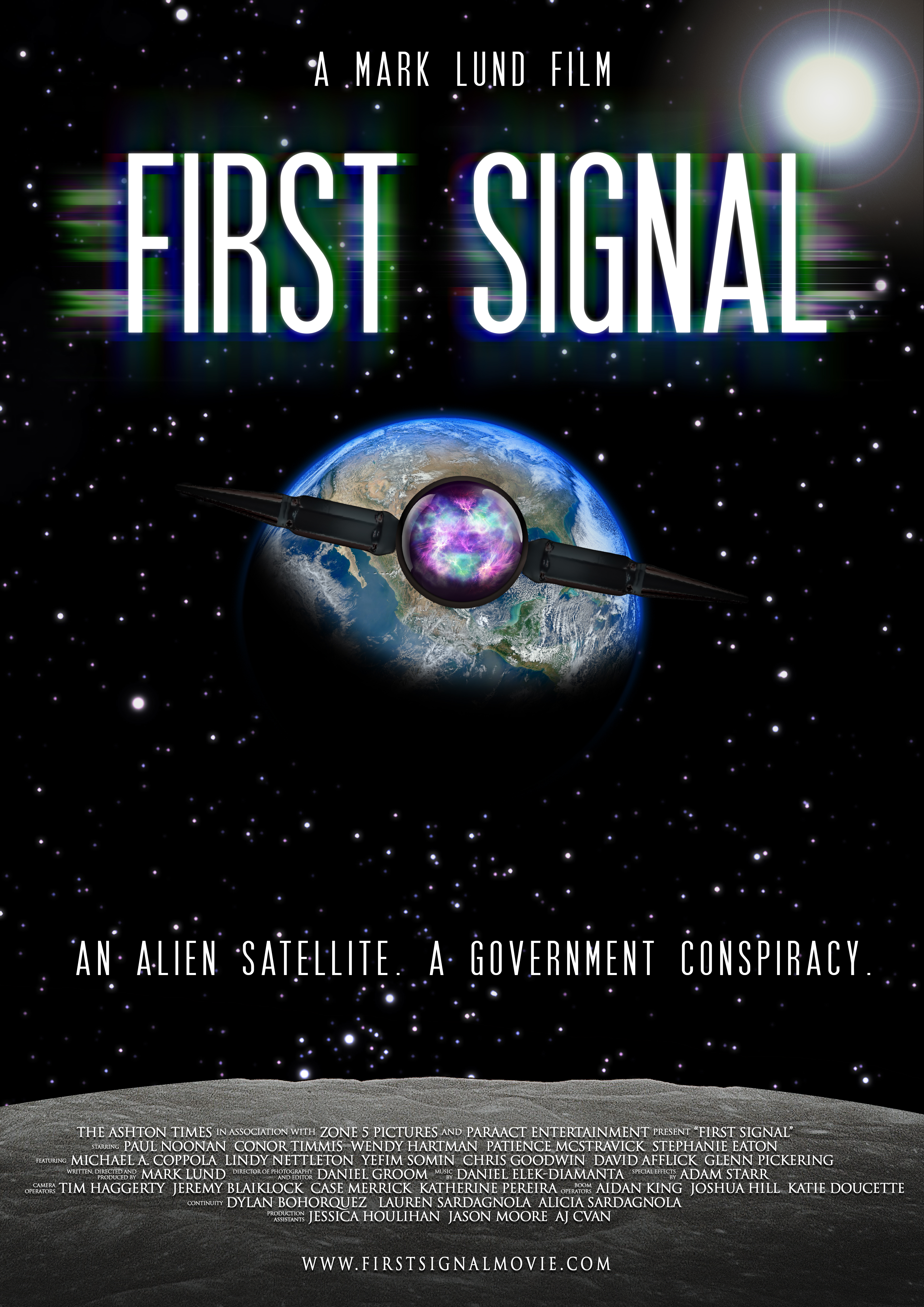 Aj Cvan, Glenn Pickering, Conor Timmis, Lindy Nettleton, Michael Anthony Coppola, David Afflick, Wendy Hartman, Chris Goodwin, Stephanie Eaton, Yefim Somin, Patience McStravick, and Paul Noonan in First Signal