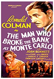 The Man Who Broke the Bank at Monte Carlo Poster