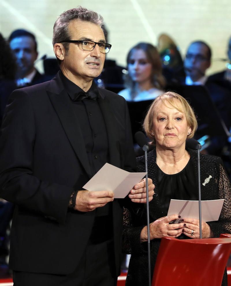 Mariano Barroso and Yvonne Blake in Premios Goya 31 edición (2017)