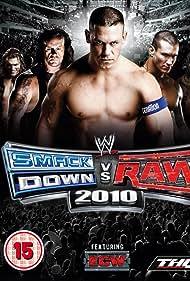 Mark Calaway, Adam Copeland, Rey Mysterio, John Cena, and Randy Orton in WWE SmackDown vs. RAW 2010 (2009)