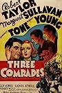 Robert Taylor, Robert Young, Margaret Sullavan, and Franchot Tone in Three Comrades (1938)