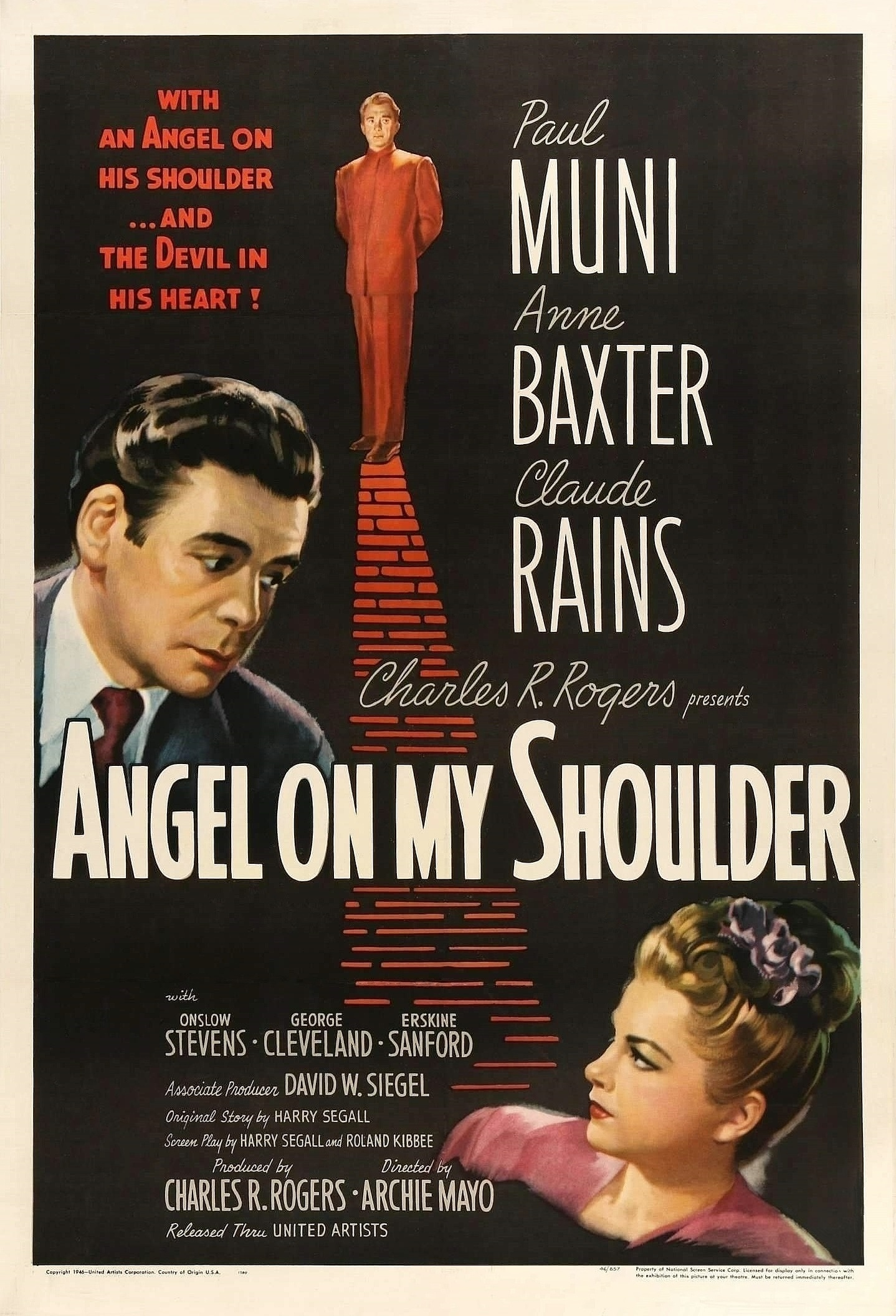 Angel on My Shoulder (1946) - IMDb