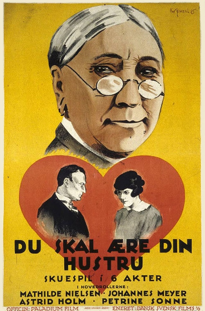 Du skal ære din hustru (1925)