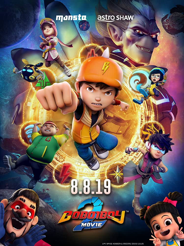 BoBoiBoy Movie 2 2020 English 360MB NF HDRip Download