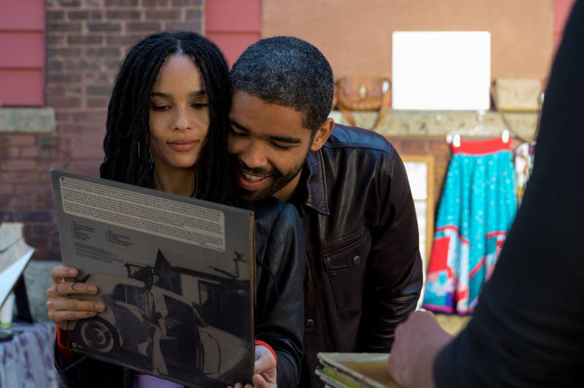Zoë Kravitz and Kingsley Ben-Adir in High Fidelity (2020)