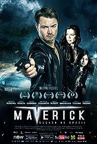 Emiliano Ruschel, Larissa Vereza, and Pietra Gasparin in Maverick: Manhunt Brazil (2016)