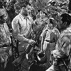 John Wayne and 'Ducky' Louie in Back to Bataan (1945)