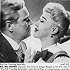 Ginger Rogers and David Brian in The First Traveling Saleslady (1956)