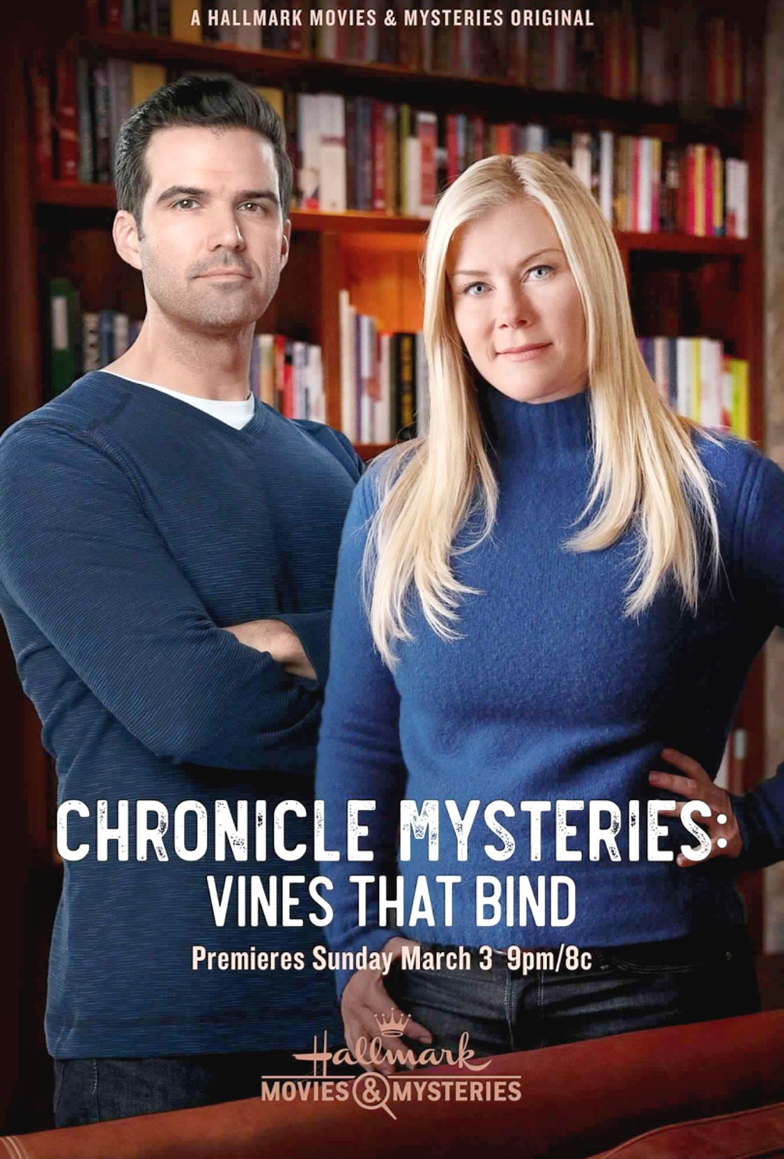 The Chronicle Mysteries: Vines That Bind (TV Movie 2019) - IMDb