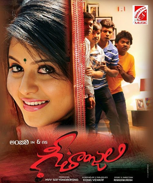 Geethanjali (2018) Hindi Dubbed 400MB HDRip 480p x264