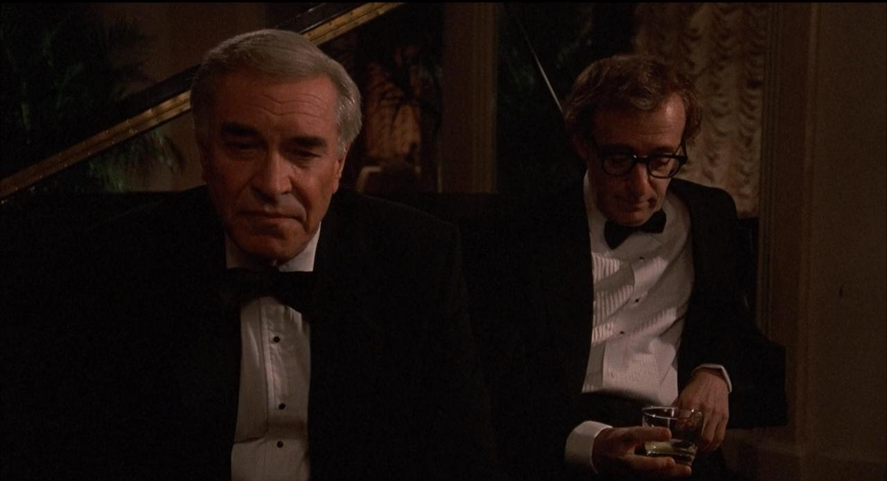 Woody Allen and Martin Landau in Crimes and Misdemeanors (1989)