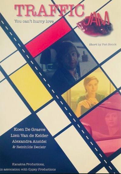 Koen De Graeve, Lien Van de Kelder, and Alexandra Ansidei in Traffic Jam (2013)