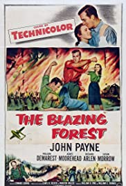 The Blazing Forest Poster