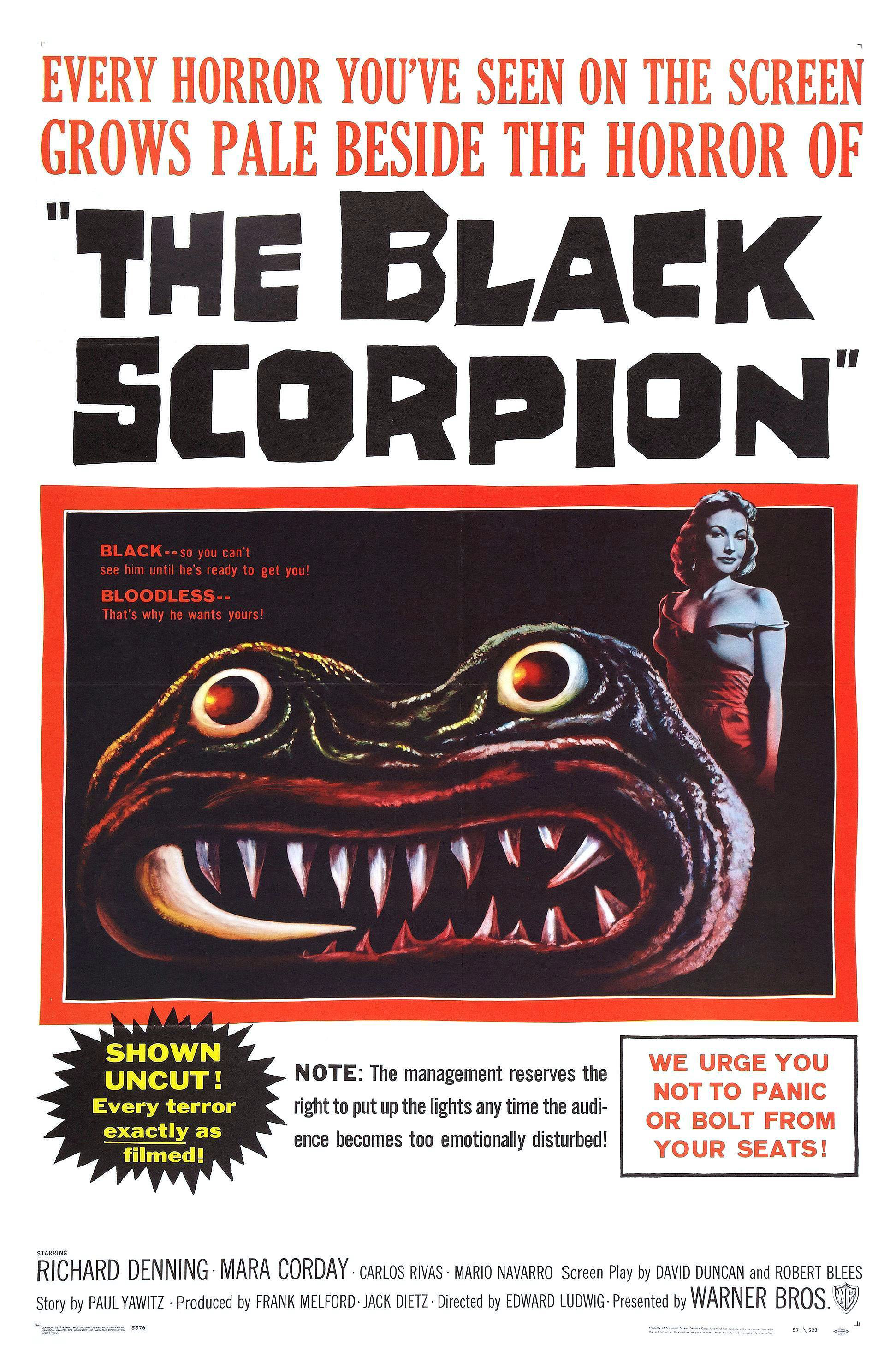 The Black Scorpion (1957) - IMDb