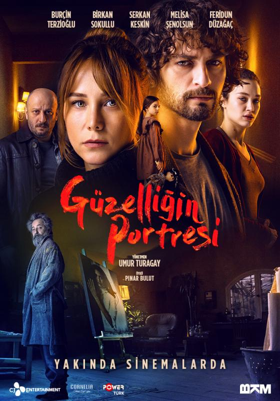 Feridun Düzagaç, Burçin Terzioglu, Serkan Keskin, Birkan Sokullu, and Melisa Senolsun in Güzelligin Portresi (2019)