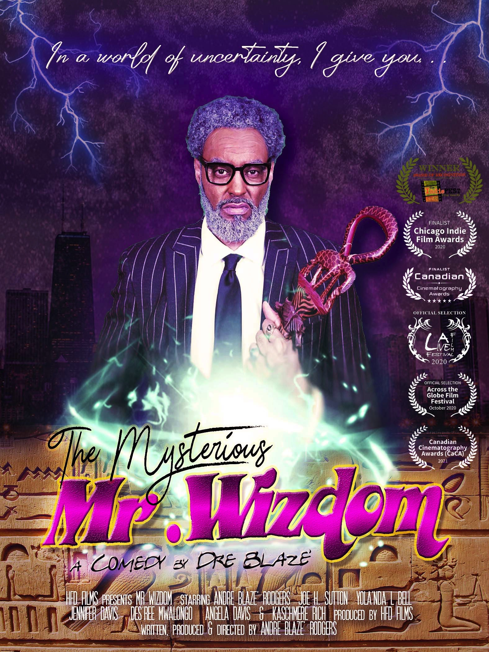 The Mysterious Mr. Wizdom on FREECABLE TV