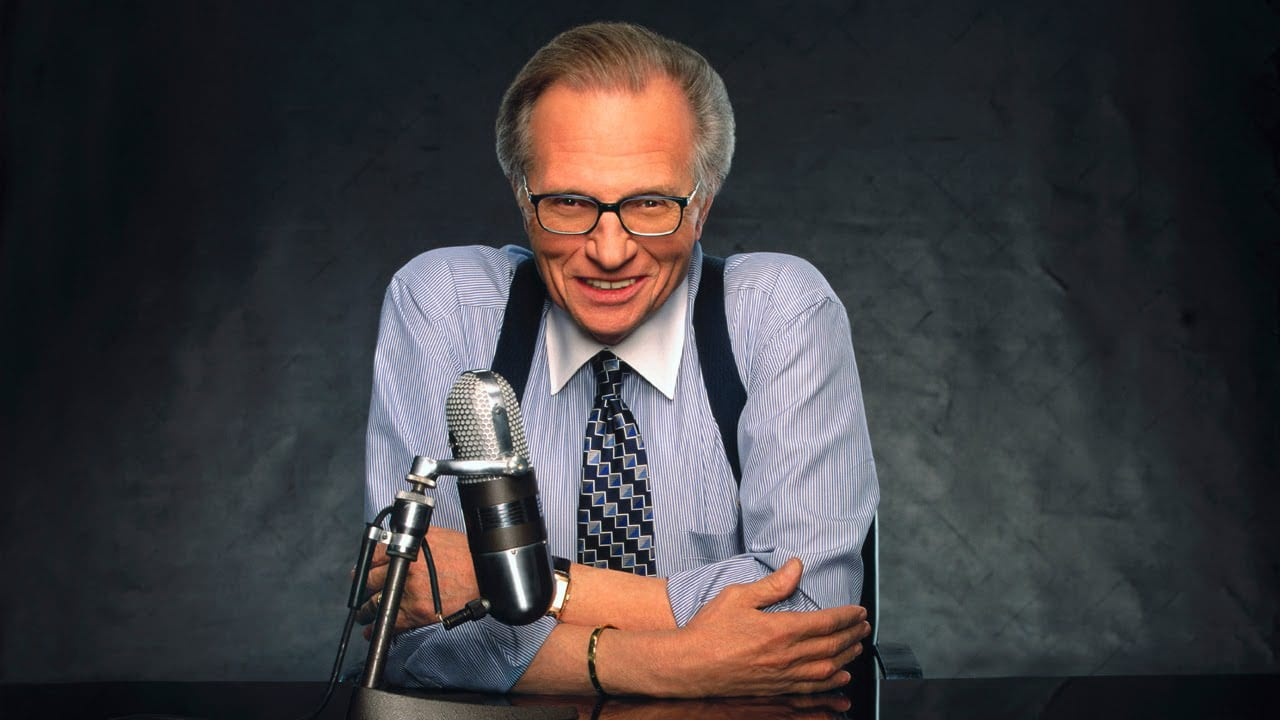 Larry King in Spin (1995)