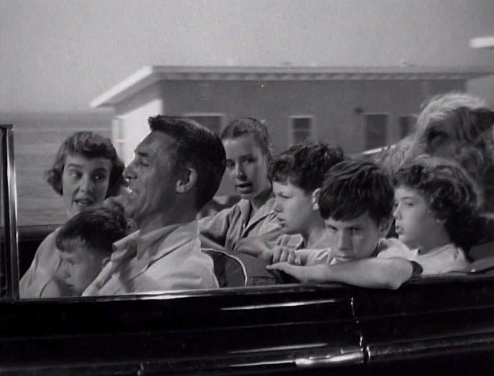 Cary Grant, Malcolm Cassell, Betsy Drake, Gay Gordon, Iris Mann, Clifford