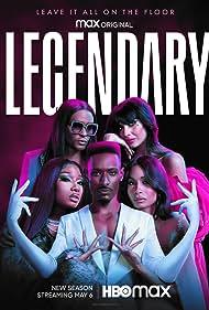 Megan Thee Stallion, Jameela Jamil, Dashaun Wesley, Law Roach, and Leiomy Maldonado in Legendary (2020)