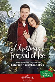 Taylor Cole and Damon Runyan in Christmas Festival of Ice (2017)