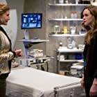 Katee Sackhoff and Danielle Panabaker in The Flash (2014)