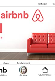 Over an AirBnb Poster