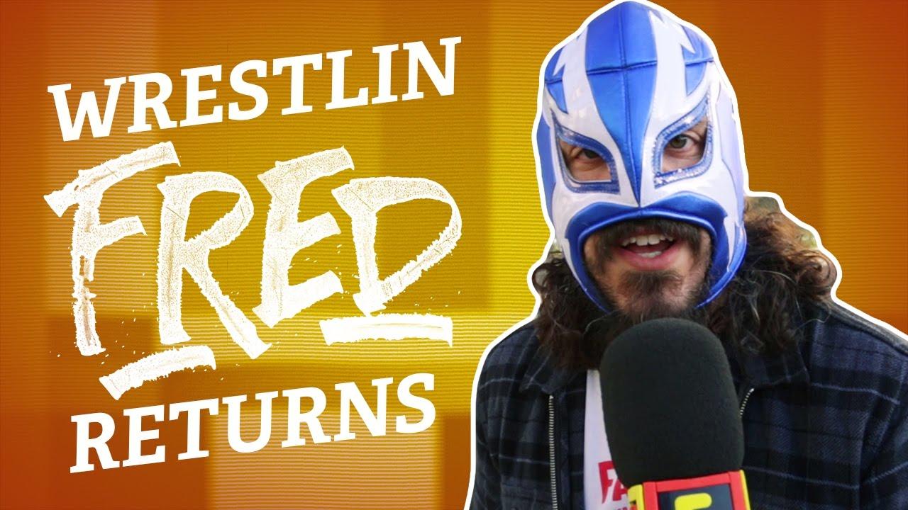 FRIDAY NIGHT FRED: Wrestlin' Fred at WWE Monday Night RAW