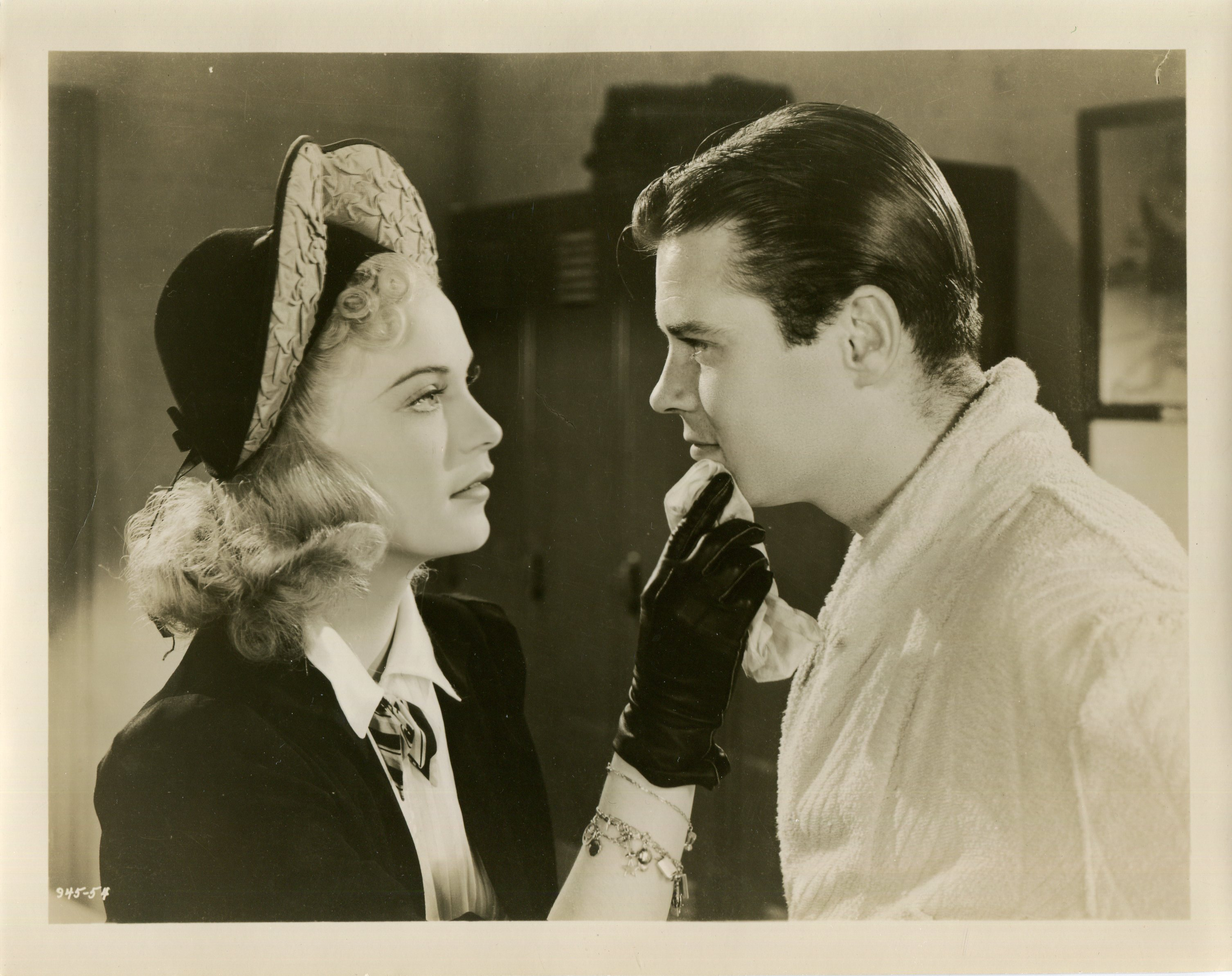 Tom Brown and Nan Grey in Ex-Champ (1939)