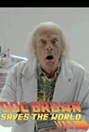 Back to the Future: Doc Brown Saves the World Poster