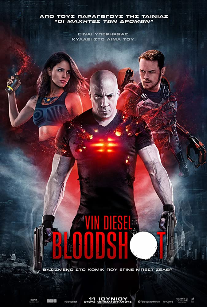 Bloodshot 2020 Hindi ORG Dual Audio 720p BluRay ESubs 1.1GB Download