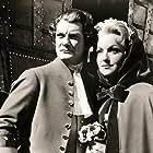 Jean Marais and Sabine Sesselmann in Le bossu (1959)