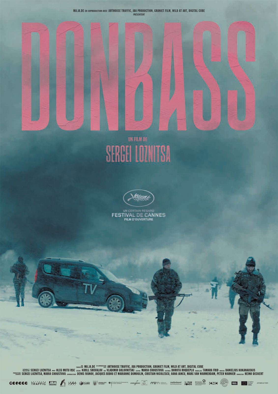 Donbass is based on amateur footage from Ukraine