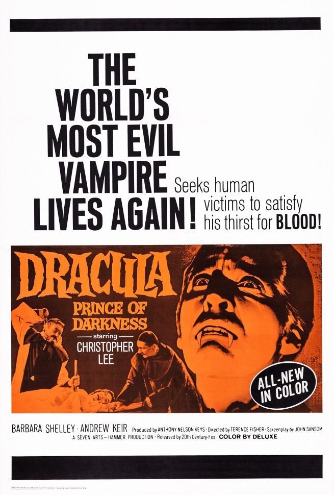Dracula principe delle tenebre (1966) HD