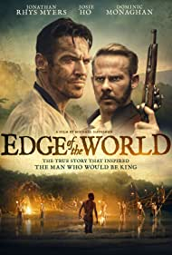 Jonathan Rhys Meyers and Dominic Monaghan in Edge of the World (2021)