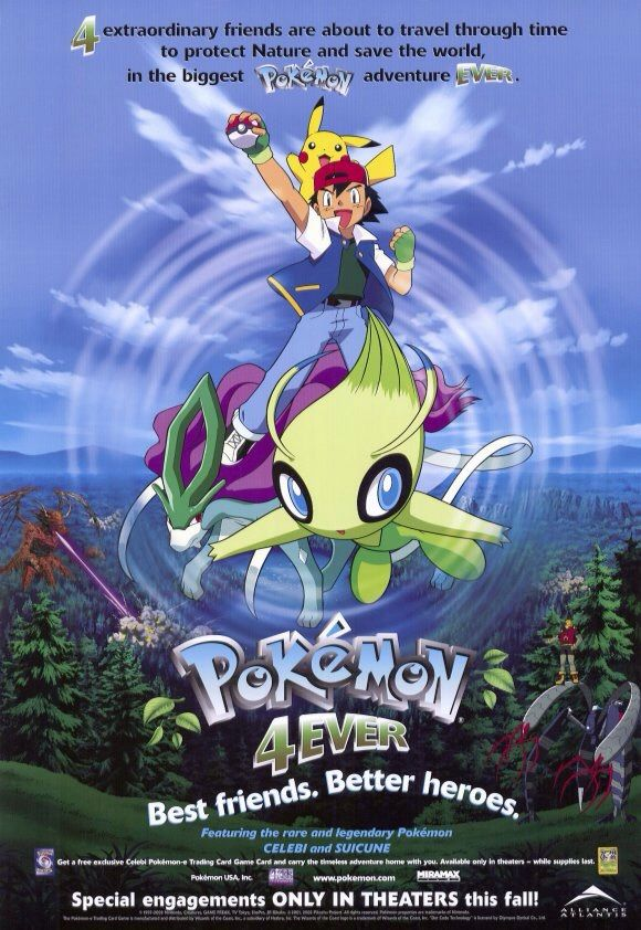 Pokemon 4ever Celebi Voice Of The Forest 2001 Imdb