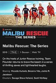 Savage Steve Holland, Scott McAboy, Breanna Yde, Jackie R. Jacobson, Abby Donnelly, Alkoya Brunson, and Ricardo Hurtado in Malibu Rescue (2019)