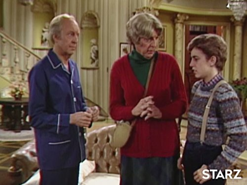 Bonar Bain, Conrad Bain, and Dana Plato in Diff'rent Strokes (1978)