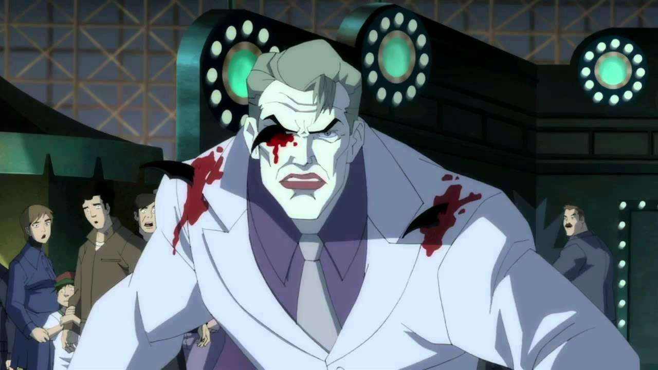 Michael Emerson in Batman The Dark Knight Returns Part 2 2013